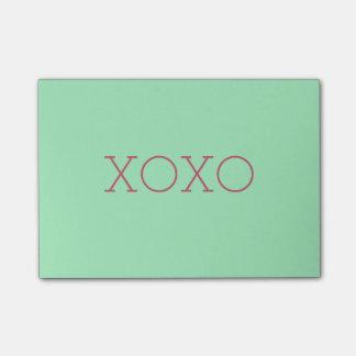 Notas do Cargo-it® de XOXO Post-it Notes