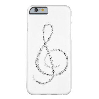 Notas do Clef Capa Barely There Para iPhone 6