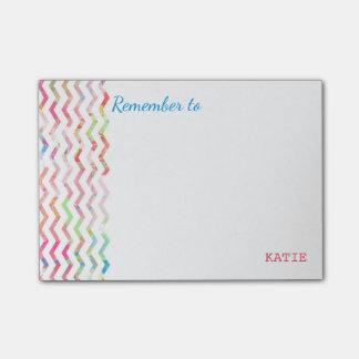 Notas multicoloridos do lembrete post-it notes