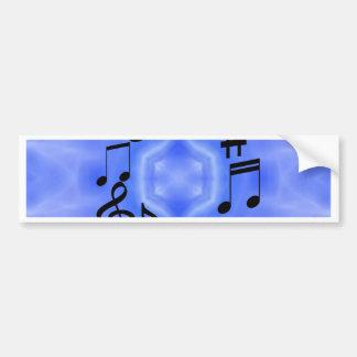 Notas musicais adesivos