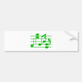 Notas musicais music notes adesivo