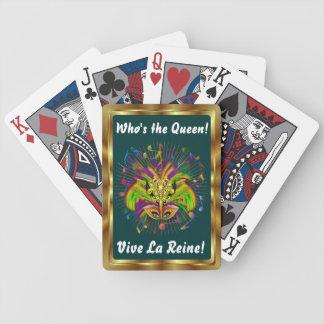Notas Plse da opinião do estilo 3 da rainha do Baralho Para Poker
