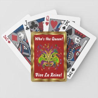 Notas Plse da opinião do estilo 3 da rainha do car Baralho Para Pôquer