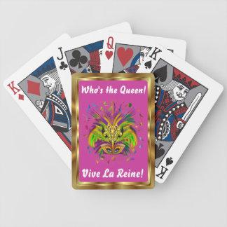 Notas Plse da opinião do estilo 3 da rainha do car Baralhos Para Pôquer