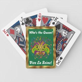 Notas Plse da opinião do estilo 3 da rainha do car Jogo De Carta