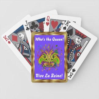 Notas Plse da opinião do estilo 3 da rainha do Cartas De Baralho