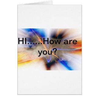 Notecard da amizade cartão comemorativo