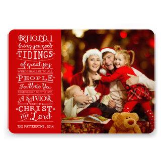 Notícias de grandes cartões de fotos das bênçãos d convite