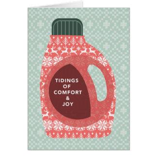 Notícias do cartão do feriado do conforto e da