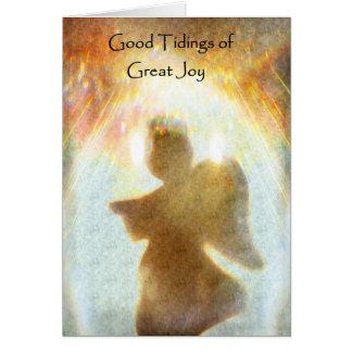 Notícias do grande cartão de Natal da alegria