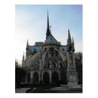 Notre Dame de Paris do cartão Cartao Postal
