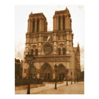 Notre Dame Papeis De Carta Personalizados
