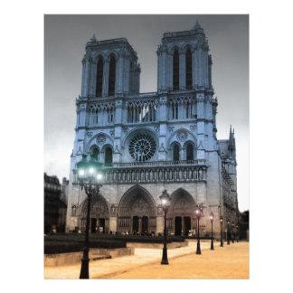 Notre Dame Modelos De Papel De Carta