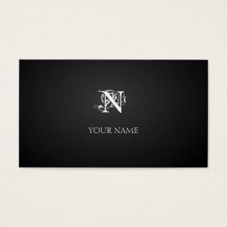 Nouveau graphite cartão de visitas
