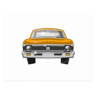 Nova 1969 de Chevrolet SS Cartão Postal
