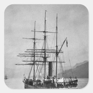 Nova de TheTerra navegada por Scott Adesivo Quadrado