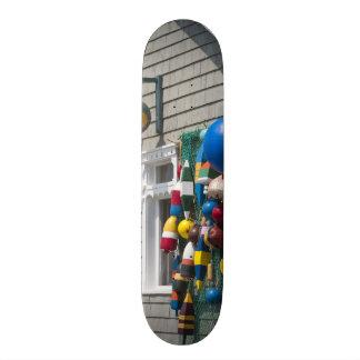 Nova Escócia, Canadá. Loja da bóia em rochas azuis Shape De Skate 18,1cm