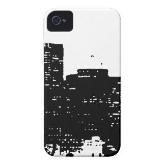 Nova Iorque branca preta do pop art Capa Para iPhone