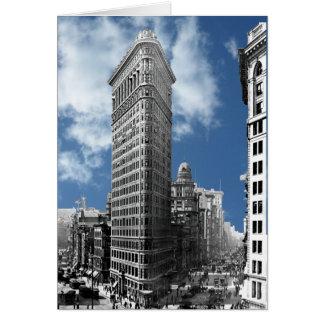 Nova Iorque da construção de Flatiron Cartão Comemorativo