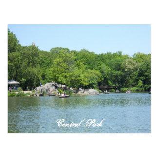 Nova Iorque da lembrança do cartão do lago central