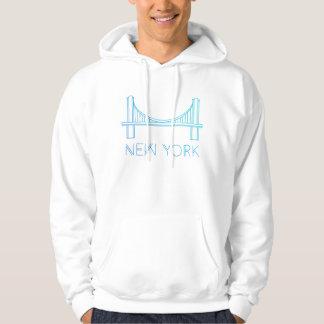 Nova Iorque da ponte de Brooklyn | Moletom