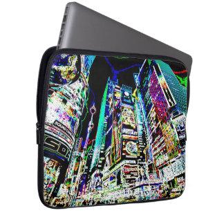 Nova Iorque de néon Bolsas E Capas De Notebook