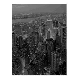Nova Iorque do estilo antigo do vintage Cartão Postal