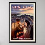 Nova Iorque do vintage, EUA - Pôsteres