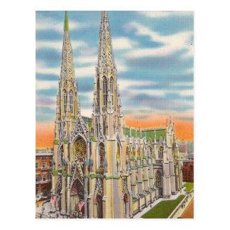 Nova Iorque EUA das viagens vintage - Cartão Postal
