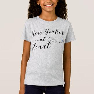 Nova-iorquino na camiseta do coração, NYC