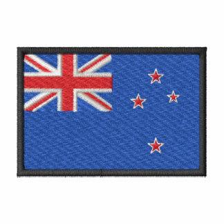 Nova Zelândia Camiseta Bordada Polo