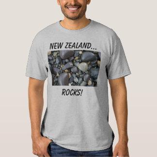 Nova Zelândia… Rochas! Camisetas