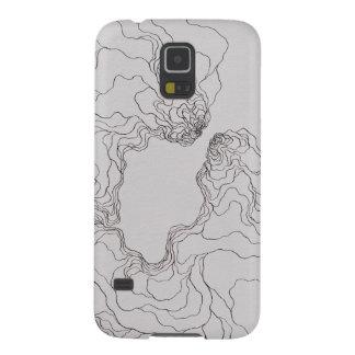 Novatos Katie (topográfico) Capa Para Galaxy S5