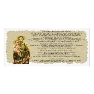 Novena de St Joseph 10.16 X 22.86cm Panfleto