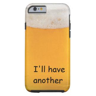 Novidade engraçada do caso do iPhone 6 da cerveja Capa Tough Para iPhone 6