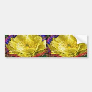 NOVINO - Ouro da obsessão floral Adesivo Para Carro