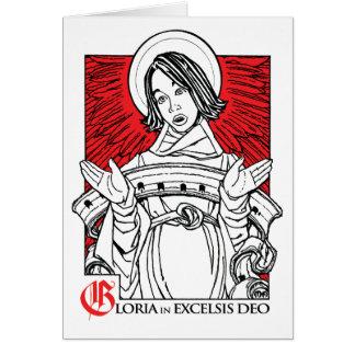 NOVO! Cartão 2011 de Natal: Glória ao deus