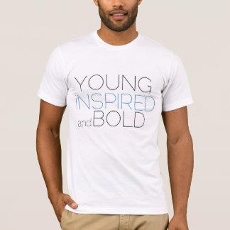 Novo, inspirado, e corajoso camiseta