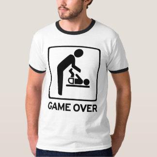 Novo papai a ser jogo sobre a camisa do dever T da Camiseta