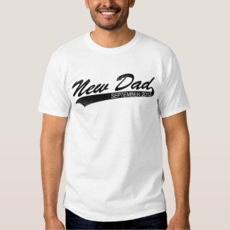 Novo papai setembro de 2013 t-shirts
