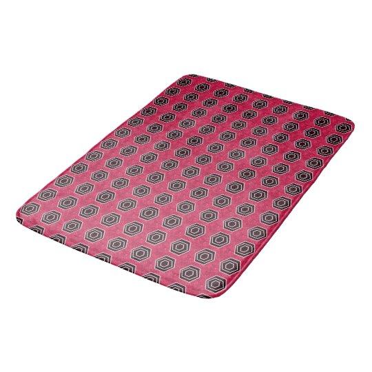 Novo-Retro-Rosa-Cinza-Deco-Modificação-Tapetes Tapete De Banheiro