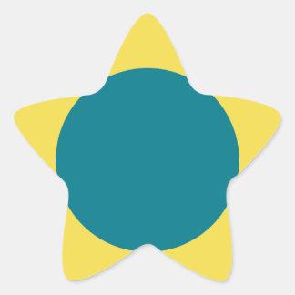 novos adesivo estrela