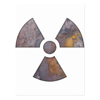 Nuclear - pinte a textura cartões postais
