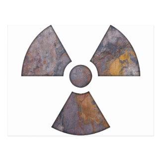 Nuclear - pinte a textura cartoes postais