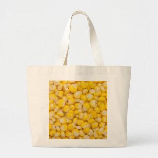 Núcleo de milho bolsa tote grande
