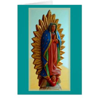 """Nuestra Señora de Guadalupe "" Cartão"
