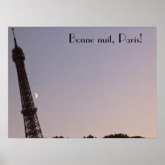 Nuit de Bonne, Paris! Pôster