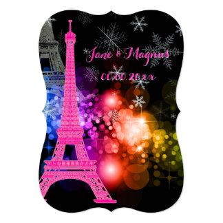 Nuit de Eiffel da excursão do la de Convites Personalizados