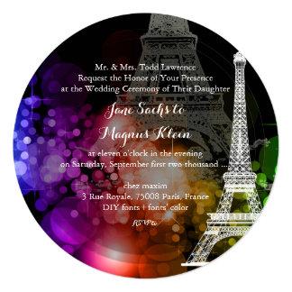 Nuit de Eiffel da excursão do la de Convites