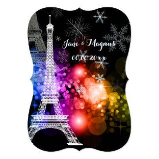 Nuit de Eiffel da excursão do la de Convite